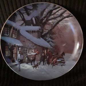 W.S. George Christmas Christmas collection plate